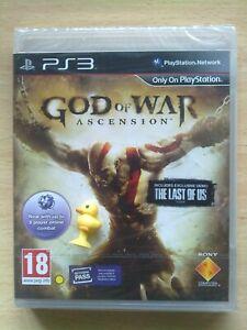 GOD OF WAR ASCENSION PS3 NUEVO PRECINTADO