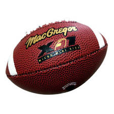 Kids Size1 American Football Ball Mini Rugby training toys Inflatable Pvc Rubber