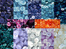 Small 11mm 18L Blue Clear Lilac Burgundy 2 & 4 Hole Shirt Buttons Craft (ML6)