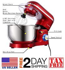Stand Mixer,6.5-Qt 660W 6-Speed Tilt-Head Food Mixer, Kitchen Electric Mixer