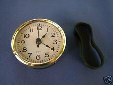 QUARTZ INSERT CLOCK 80mm White Arabic No 3