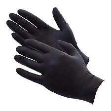 DISPOSABLE NITRILE GLOVES PANEL BEATING MECHANICS SAFETY BOX OF 100 XL FREE POST
