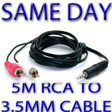 5m 3,5mm à HiFI ou câble TV RC POUR IPOD IPAD Nokia GB