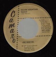 HEAR! Bluegrass Camero 45 JOE REEVES Ozark Mountain Banjo on Camaro