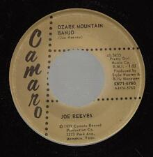 HEAR! Bluegrass Camero 45 JOE REEVES Ozark Mountain Banjo on Camaro