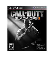 Call of Duty Black Ops II Sony PlayStation 3 2012 PS3 game disc case cover ps3