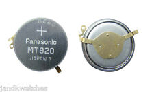 Panasonic MT920 Capacitor for Seiko Kinetic 5M42, 5M43, 5M22, 5M23