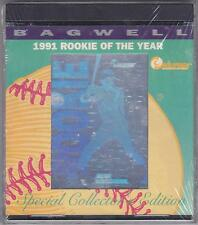 Jeff Bagwell 1991 Rookie Of The Year Commemorative Hologram Card W/COA