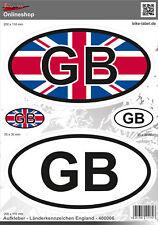Länderkennzeichen England Aufkleber-Auto-Caravan-Motorrad 400006