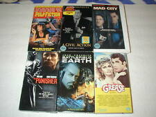 JOHN TRAVOLTA 6 PACK VHS MOVIE LOT RARE OOP HTF