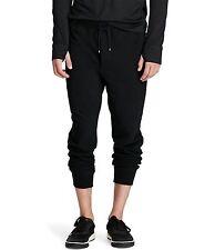Polo Ralph Lauren Cotton Blend Fleece Jogger Pants in Size XXL in Black