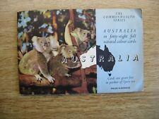 LYONS TEA CARDS COMPLETE ALBUM - AUSTRALIA - CIRCA 1959