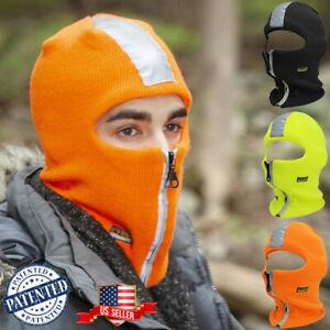 Reflective Safety High Visibility Outdoor Bike Vest Stripe Mask Construction NEW