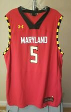 Maryland Terrapins NCAA Under Armour Classic Red #5 XL Jersey
