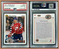 1991 Upper Deck #626 Steve Yzerman PSA 10 Gem Mint Card Red Wings Hockey HOF