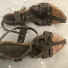 9c9f310afa1b Christian Dior Women s Leather Sandals and Flip Flops for sale