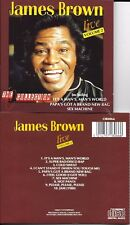 CD 10 TITRES JAMES BROWN LIVE VOLUME 2 TBE