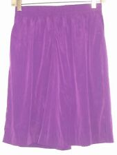 MAGGIE SWEET GORGEOUS PURPLE PULL ON SHORTS SKORT BRIGHT BOX  SIZE SMALL