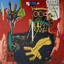 Jean-Michel Basquiat, Untitled (Ernok) 1983, Hand Signed Lithograph