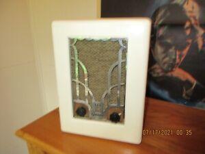 Grunow Model 450 Tube radio Rare White color set