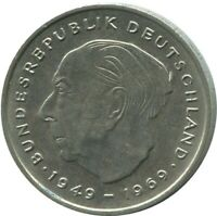 2 MARK 1971 D MUNCHEN T.Heuss BRD Germany #DE10370.5DW