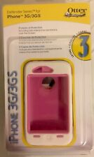 White & Pink Otterbox Defender Case Holster Belt Clip Apple iPhone 3G 3Gs