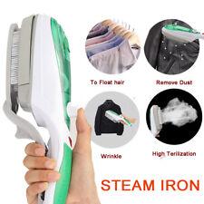 Portable Handheld Mini Electric Iron Steam Wrinkle Brush Steamer Family Travel