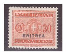 ERITREA  1934   -   SEGNATASSE   CENTESIMI  30    NUOVO **