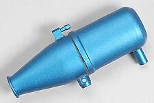 Traxxas Aluminum Tuned Pipe Blue Anodized Revo