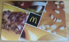 Collectible NO CASH VALUE McDonald's Restaurant Gift Card Rare 2018 Hamburger