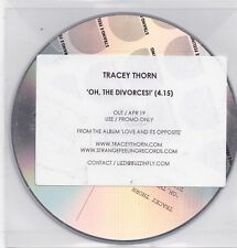 Tracey Thorn-Oh The Divorcesi Promo cd single