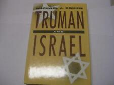 Truman and Israel by Michael Joseph Cohen