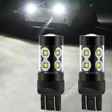 2X 100W CREE 7443 7440 LED Backup Reverse Lights Bulbs Super Bright 2800LM 6000K