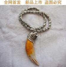 Bear Tooth Pendant Big Cat Teeth Animal Teeth Animal Domineering Jewelry Evil