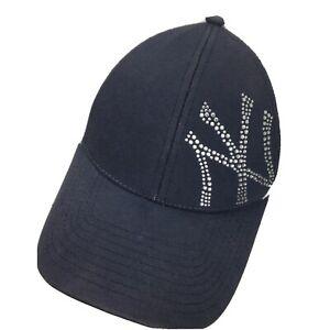 New York Yankees Jeweled New Era Women's Ball Cap Hat Adjustable Baseball