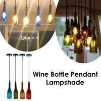 Wine Bottle Ceiling Lamp Pendant Light Chandelier Light Modern Hanging