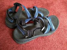 Merrell Performance Sandals, Python Black/Blue, Womens 11