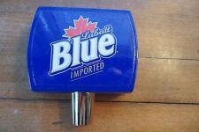 Belgium Owned Canadian beer Labatt Blue beer tapper, handle, advertising