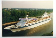 LN1343 - Norwegian Cruise Liner - Song of Norway , built 1970 - postcard