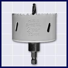 Universal Lochsäge für Holz und Metall mit Schaft 8,75 mm Ø 73 mm