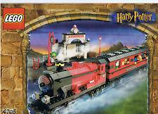 Lego 4708 Harry Potter -  Hogwarts Express mit Figuren   mit 2 Waggons  von 2001