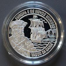 25 ECU Silbermünze VASCO DA GAMA Portugal 1995 mit Zertifikat -2997-