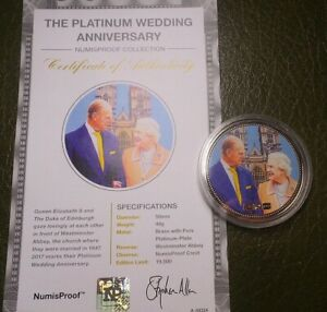2017 Numis Proof Coin Collection The Platinum Wedding Anniversary Collection