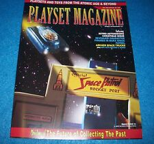 playset magazine #78 Nov 2014 -Marx Space Patrol playset and more
