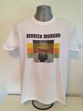 Derrick Morgan T-Shirt-ROCKSTEADY Ska Cabeza Rapada Reggae inspirada en raíces