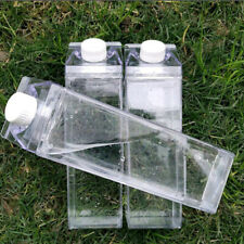 500ml Transparent Plastic Bottle Milk Bottle Drink Empty Storage Bottle Sports
