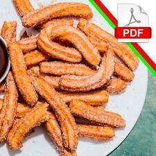 como hacer churros en pdf