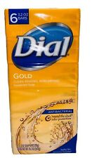 Dial Gold Antibacterial Bar Soap, 6 Total Bars, Brand New, FREE SHIPPING