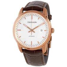 Calvin Klein Infinite Automatic White Dial Men's Watch K5S346G6