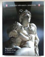 IMPORTANT CATALOGUE DE VENTE MOBILIER & OBJETS D'ART / FLACON PARFUM ANCIEN